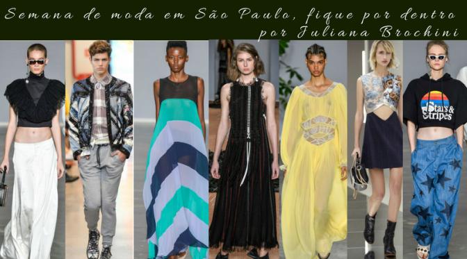 O que aconteceu na semana de moda de São Paulo – Parte 1