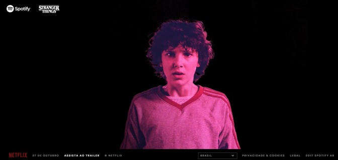 Spotify lança playlists especiais de Stranger Things
